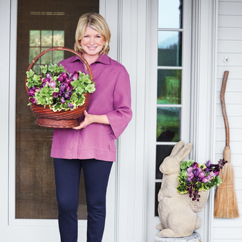 Martha Stewart Easter Photo