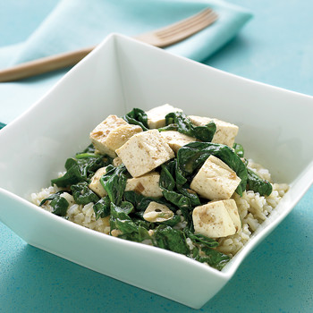 """""""Creamy"""" Spinach Curry"""