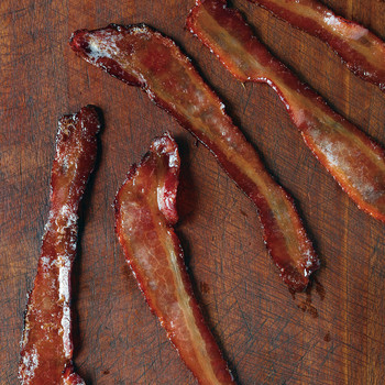 Maple-Glazed Bacon