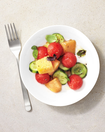 Totally Cool: Savory Melon Salads