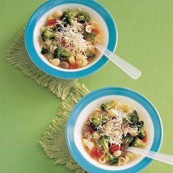 Minestrone with Broccoli