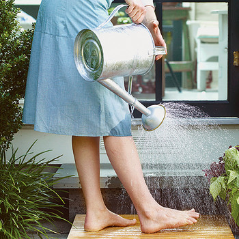 Watering-Can Shower