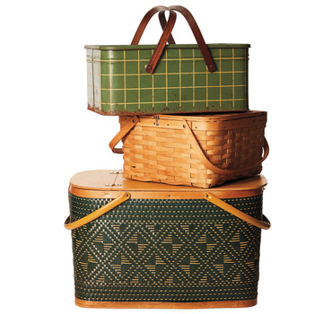 Collecting: Vintage Picnic Baskets