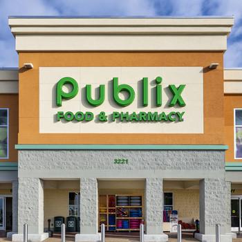 exterior of the Florida-based Publix food market