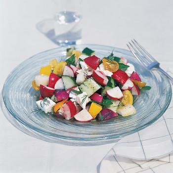 Chunky Radish Salad