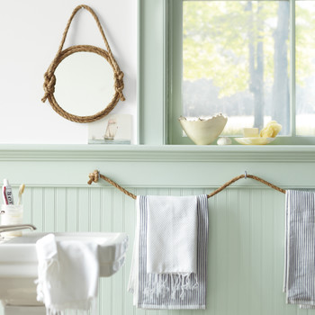 14 DIY Ideas for Bathroom Wall Décor