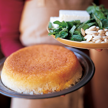 Baked Saffron Rice
