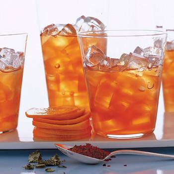 Raspberry Rosehip Iced Tea