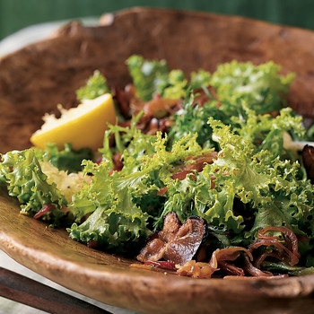 Hearty Bacon and Lemon Chicory Salad