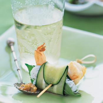 Cucumber Summer Rolls