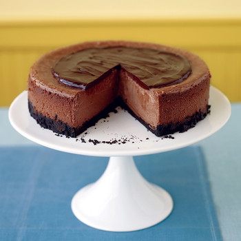 Triple-Chocolate Cheesecake