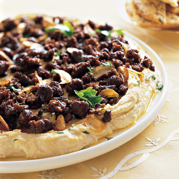 Fava Bean and Sausage Dip