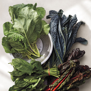 Blanched Greens