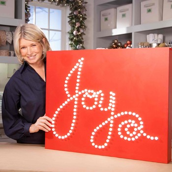 Joyful Lighted Holiday Sign How-To