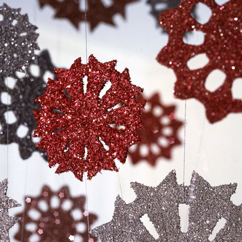 Glittered Christmas Ornaments