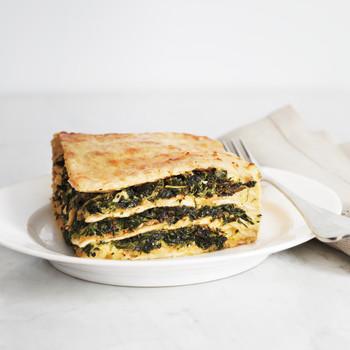 Matzo Spinach Lasagna