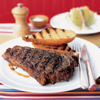Spice-Rubbed Strip Steak