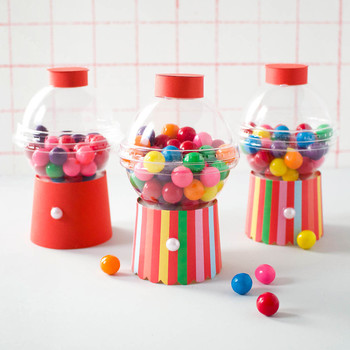 mini gum ball machine party favor