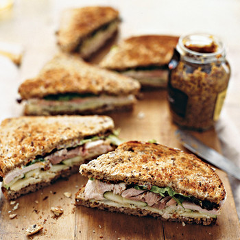 Thanksgiving Leftover Idea: Throw a Turkey Sandwich Party