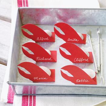 Lobster Place Cards