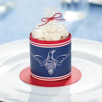 Fourth of July Clip-Art Candy Container