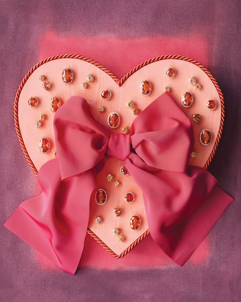 Heart-Covered Cookie Wrapper