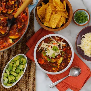 Watch: Vegetarian Black-Bean Chili