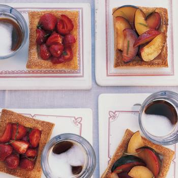 Honeyed Fruit Tartlets