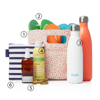 The Perfectly Packed Beach Bag: 7 Things You Should Never Forget