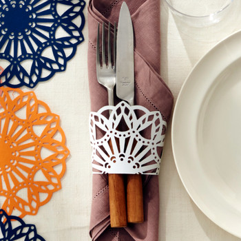 Super-Simple Doily Napkin Rings