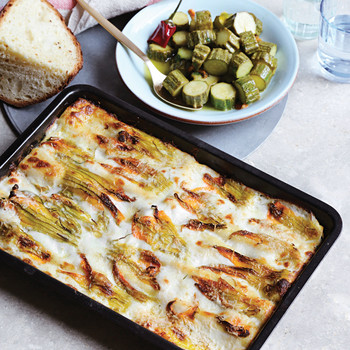Basil and Ricotta Cannelloni