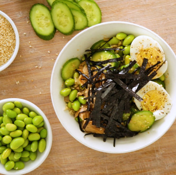 Sushi grain bowl