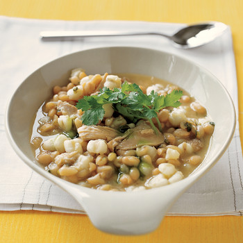 Chicken Chili with Hominy