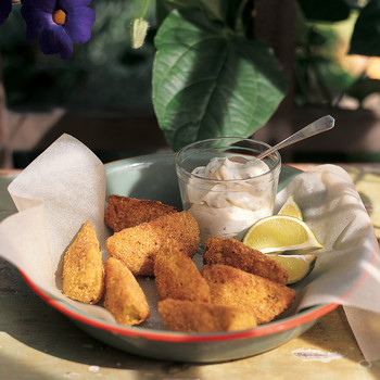 Fried Green Tomato Wedges