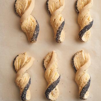 Poppy-Seed Twists