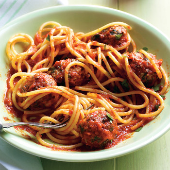 Sriracha Marinara and Meatballs
