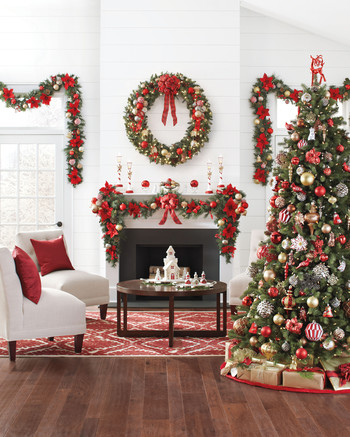 25 Creative Christmas Tree Decorating Ideas Martha Stewart