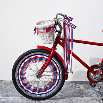 patriotic bicycle clip-art