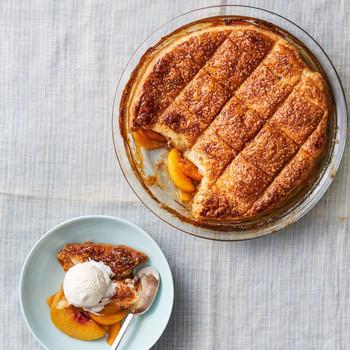 peach pot pie recipe
