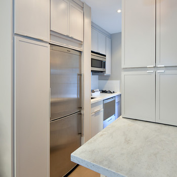 A Small Kitchen Gets Gorgeously Gray