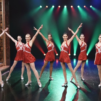 the rockettes performing on live tv