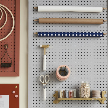 DIY tool organizing peg board