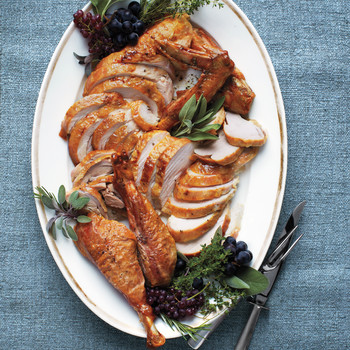 Easy Roasted Dry-Brined Turkey