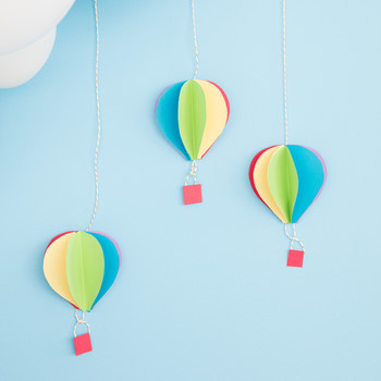 DIY hot air balloons