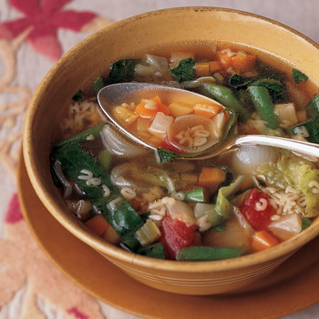 Vegetable Alphabet Soup