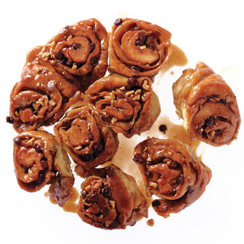 Walnut-Chocolate Sticky Buns