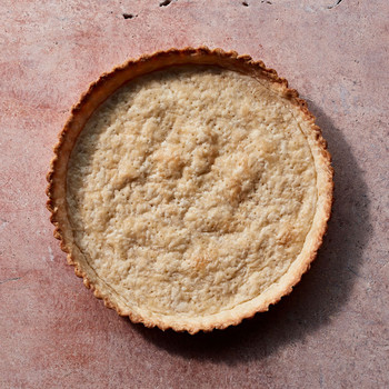 golden baked pie crust