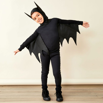 child in bat costume