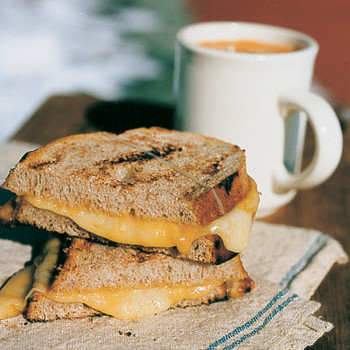 Fire-Roasted Cheese Sandwiches