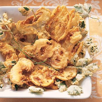 Artichoke, Fennel, and Lemon Fritto Misto